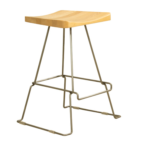 Model 115 Maple Seat Counter Stool