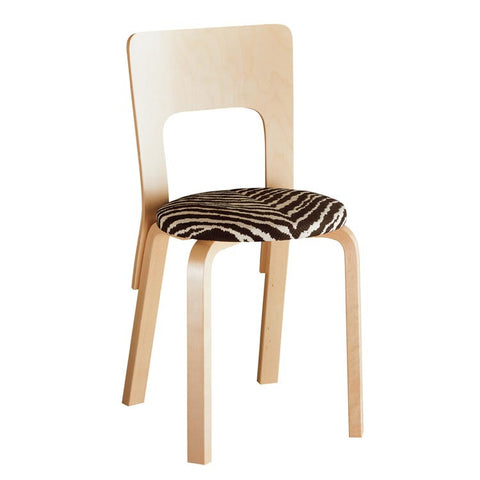 Upholstered Chair 66 - Natural Lacquered