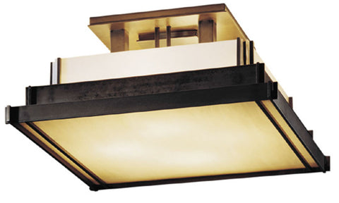 Steppe Square Ceiling Light
