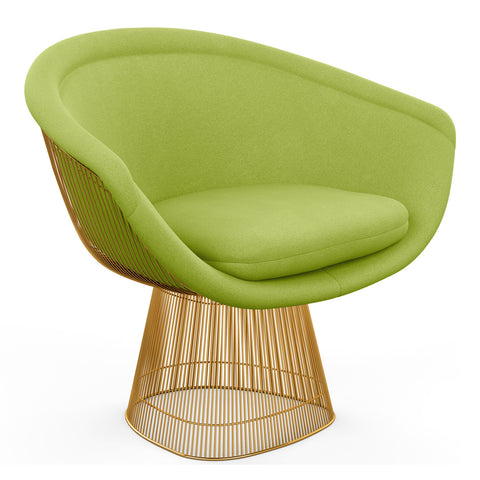 Platner Gold Lounge Chair