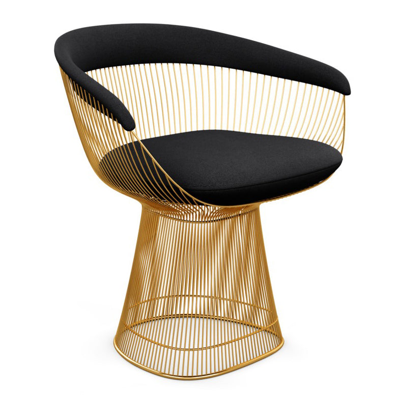 Eye catching Knoll Platner Gold Arm Chair Recommended Item