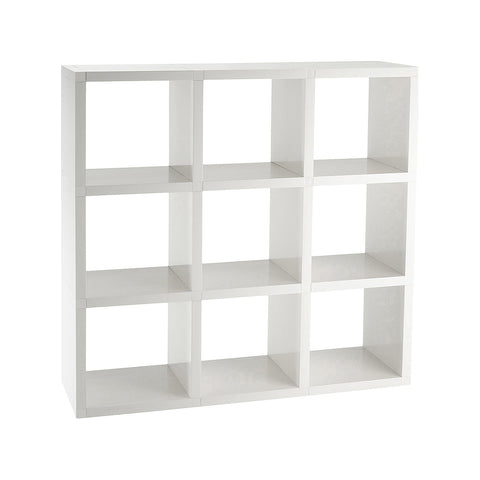 Modular Bookshelf - 9 Shelves