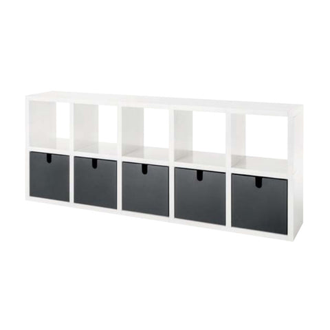 Modular Bookshelf - 10 Shelves
