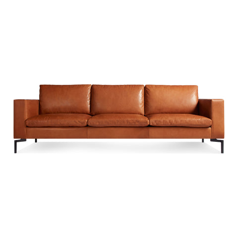 "New Standard 92"" Leather Sofa"