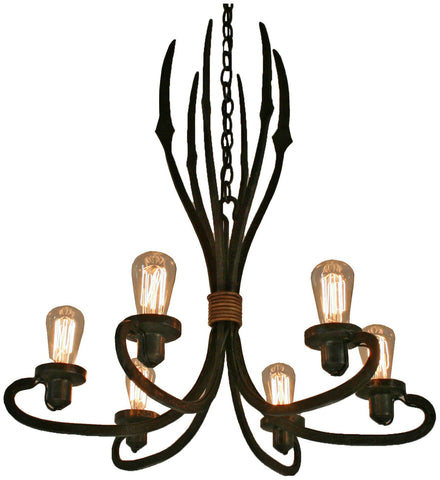 Wired Triton Chandelier
