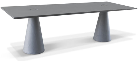 Locking Rectangular Dining Table