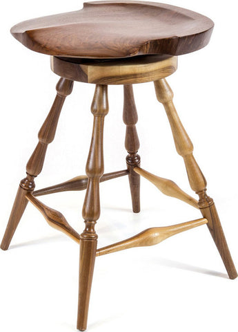 Brubaker Swivel Stool