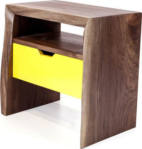 Live Nightstand with Drawer