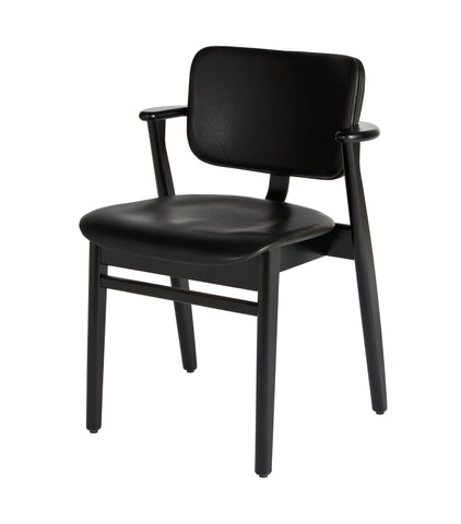 Domus Birch Chair with Leather Seat and Back