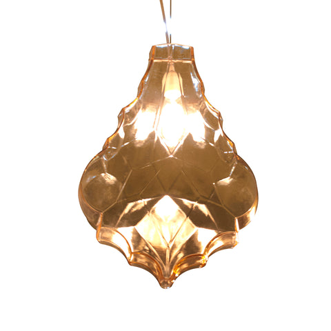 24 Karati Teardrop Pendant Light