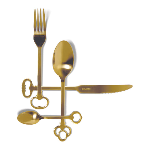 Keytlery - Gold (Set of 24)