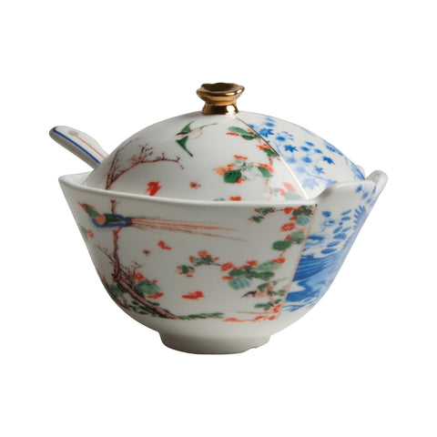 Hybrid-Maurilia Sugar Pot With Spoon
