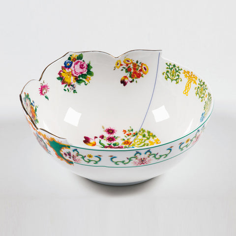 Hybrid-Zaira Salad Bowl In Porcelain