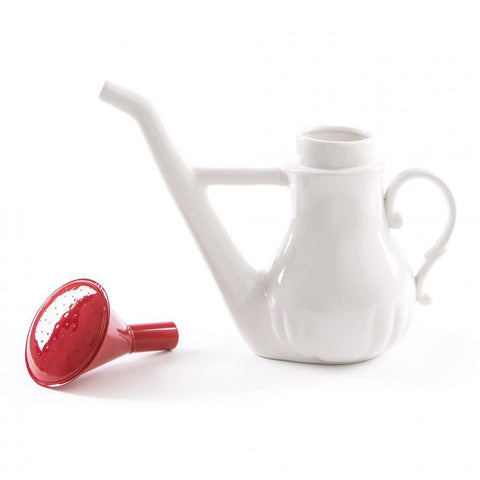 Swan Porcelain Watering Can