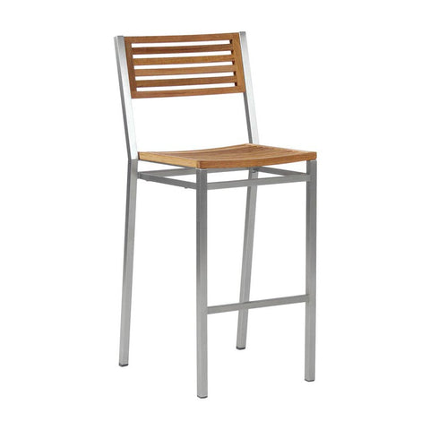 Equinox High Side Chair - Teak Seat & Back