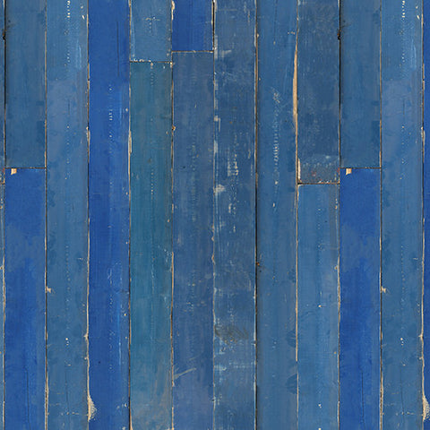 PHM-36 Blue Scrapwood Wallpaper