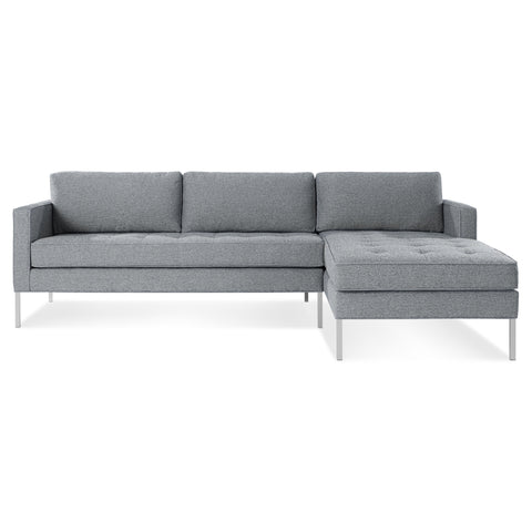 Paramount Right Arm Sofa with Left Arm Chaise