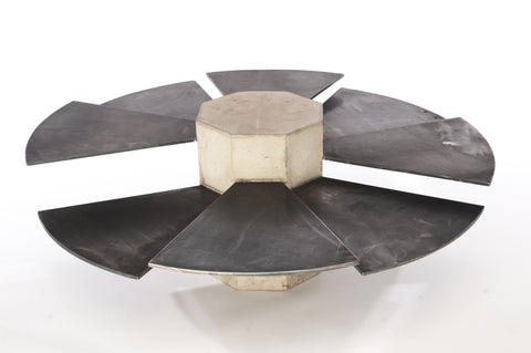 Steel Fan Coffee Table
