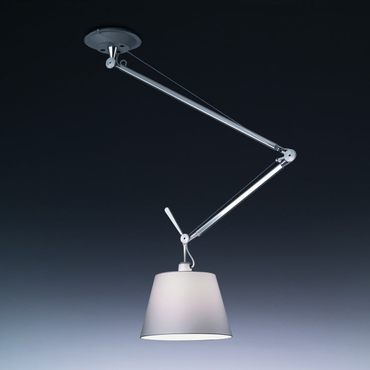 Ceiling suspended luminaire for adjustable directional for Suspente luminaire