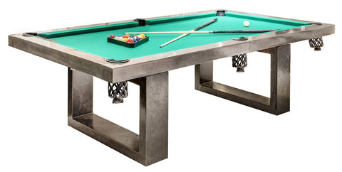 Colored Outdoor Pool Table