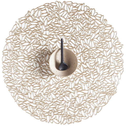 Petal Pressed Round Placemat (Set of 4)