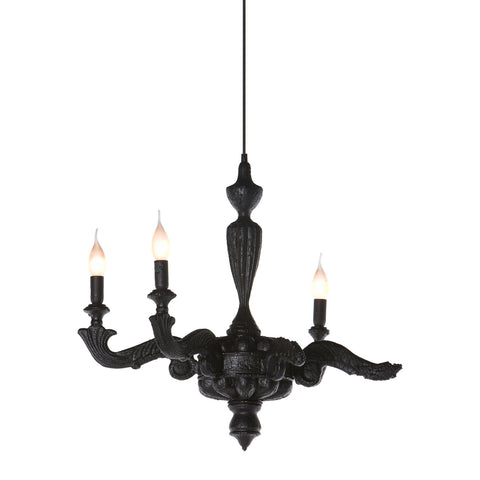 Smoke Chandelier Suspended Lamp