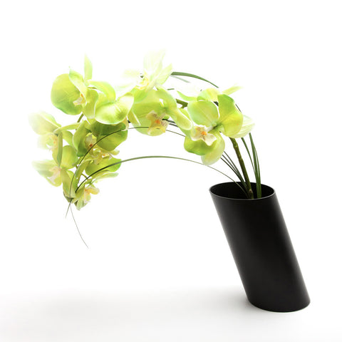 Double Flower Vase with Interior Single Stem Vase