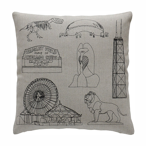 Chicago Pillow