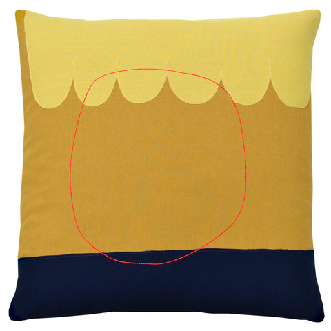 Sunset Abstraction Pillow