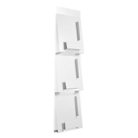 2D3D Wall Magazine Rack