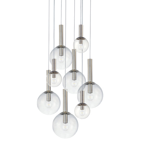 Bubbles 8 Light Pendant