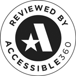 Reviewed by Accessible 360 Badge