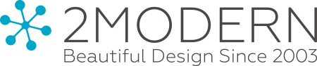 2Modern Beautiful Design Since 2003 - logo