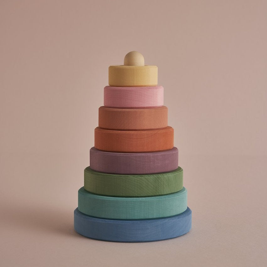 *DEC PREORDER* Stacking Tower | Pastel Earth