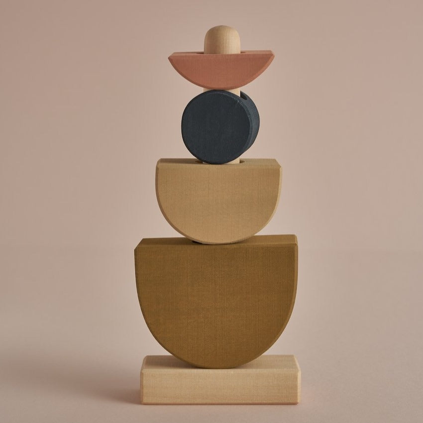 *DEC PREORDER* Shapes Stacking Tower