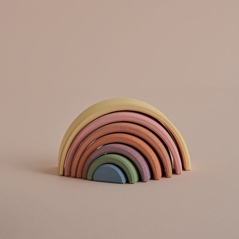 *NOV PREORDER* Small Arch Stacker | Pastel Earth