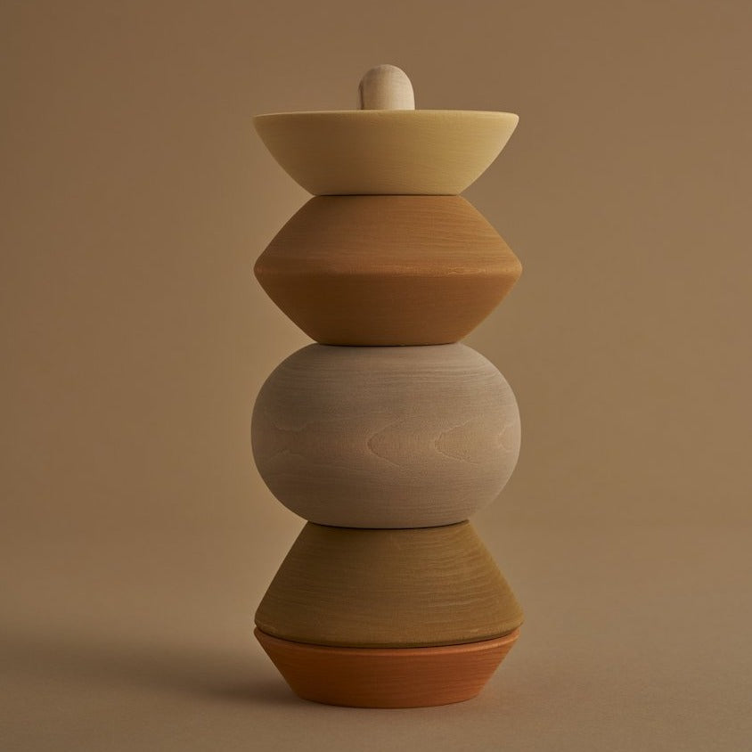 Ball Sculpture Stacking Tower