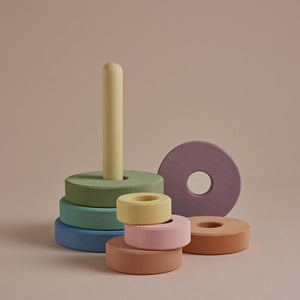 *PREORDER* Stacking Tower | Pastel Earth