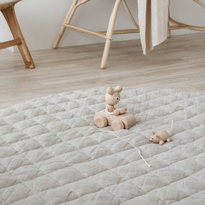 PREORDER warren hill play mat | natural