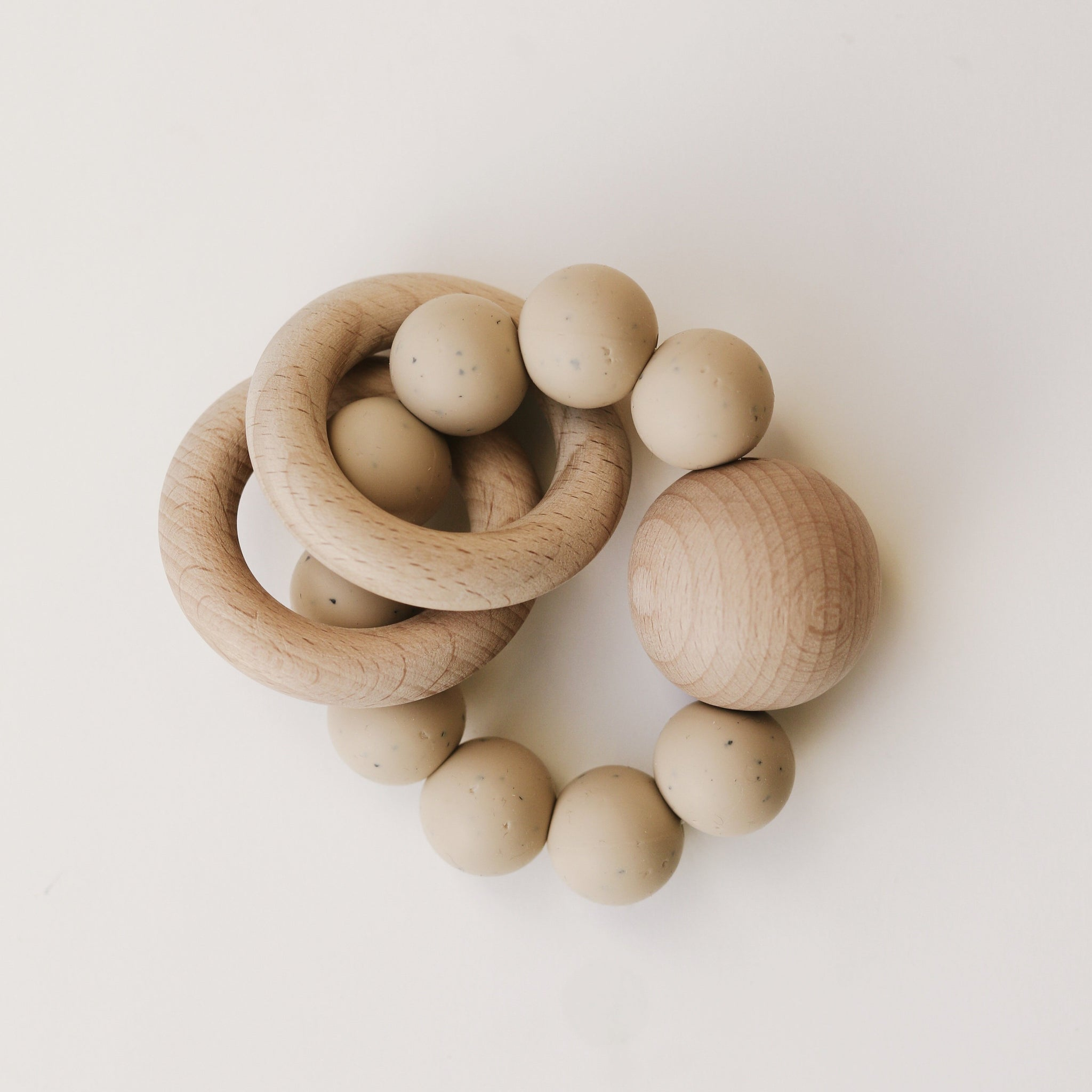 Wooden Silicone Teether
