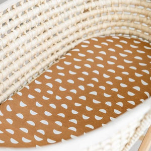 Pebble Moses Basket Fitted Sheet