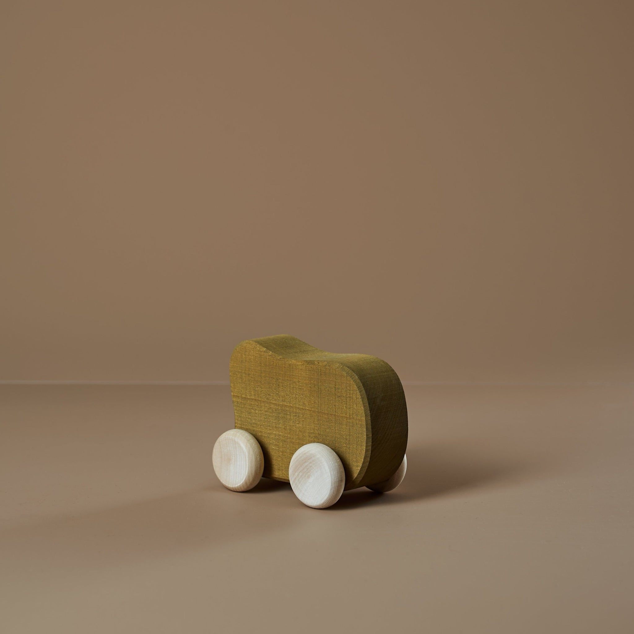 *DEC PREORDER* Wooden Shape Car | olive