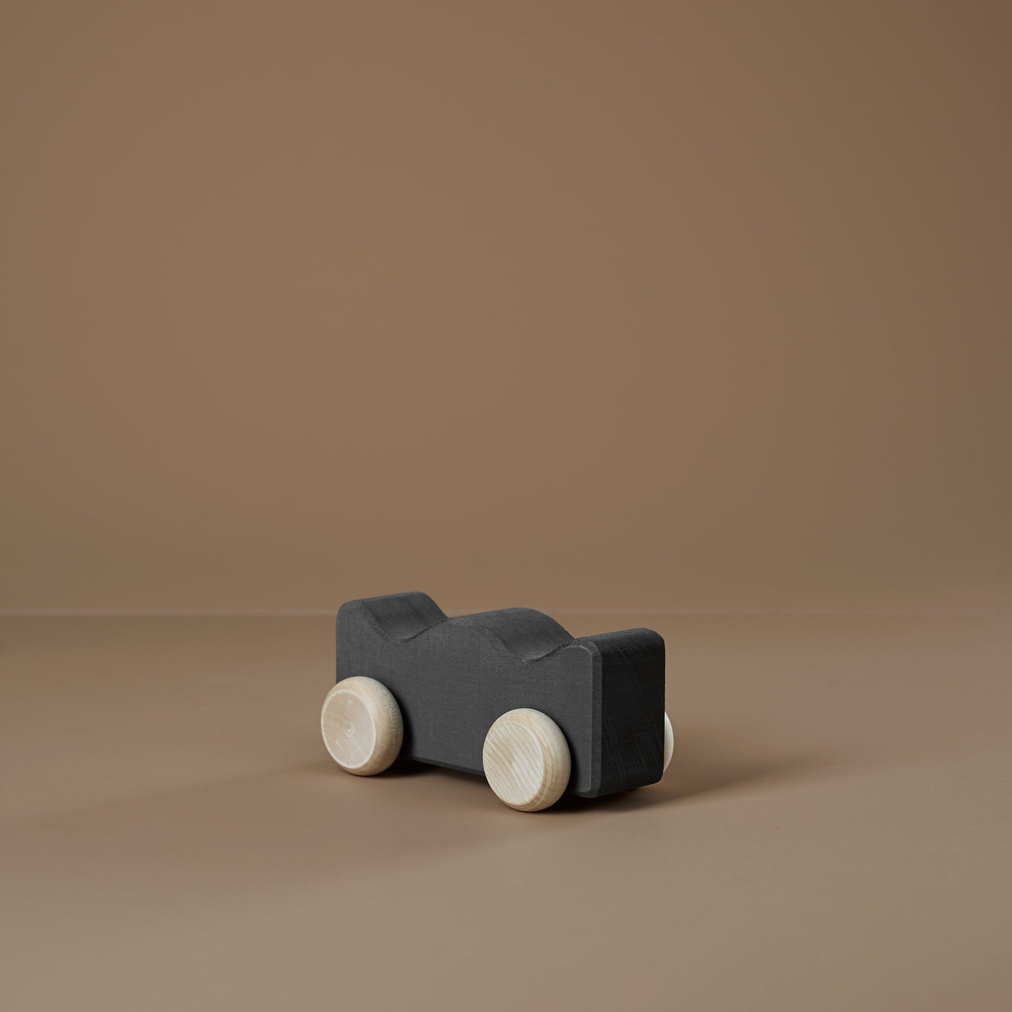 *DEC PREORDER* Wooden Shape Car | coal