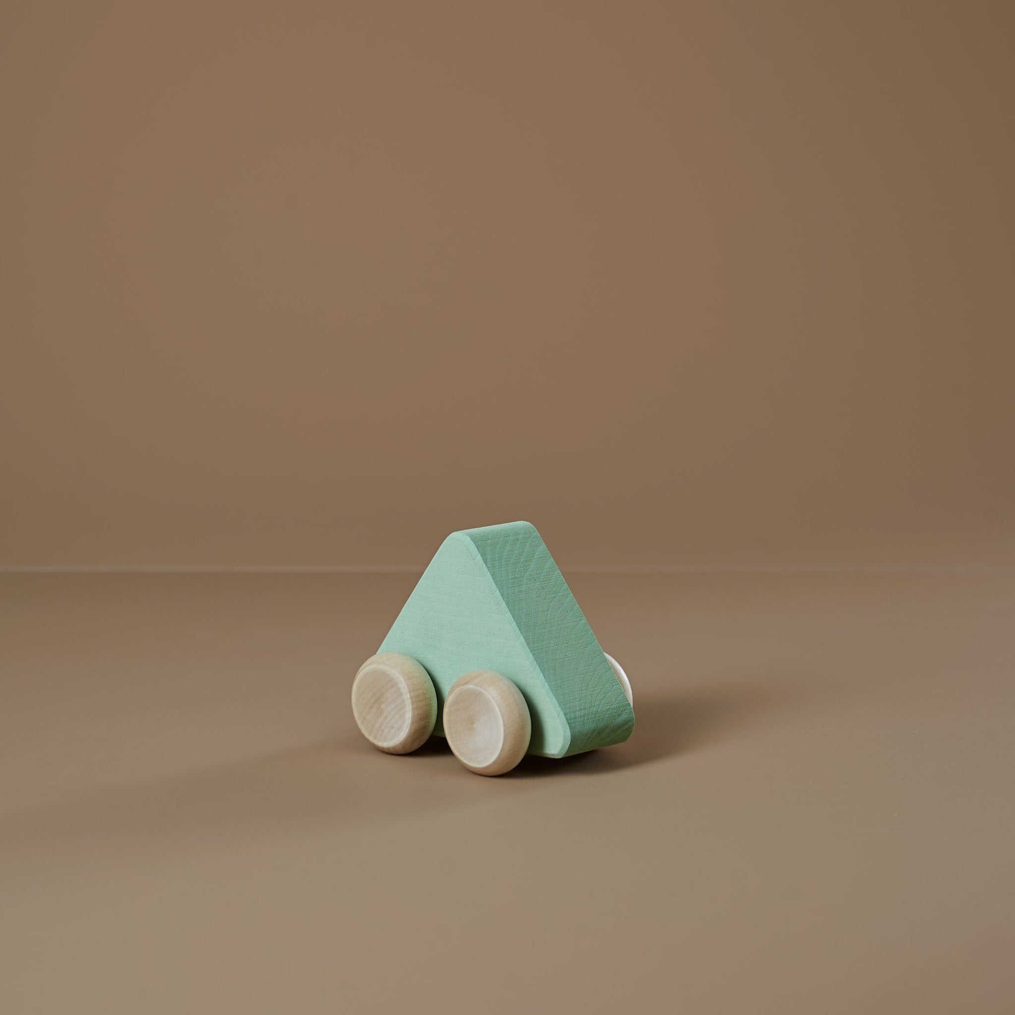 Wooden Shape Car | seafoam