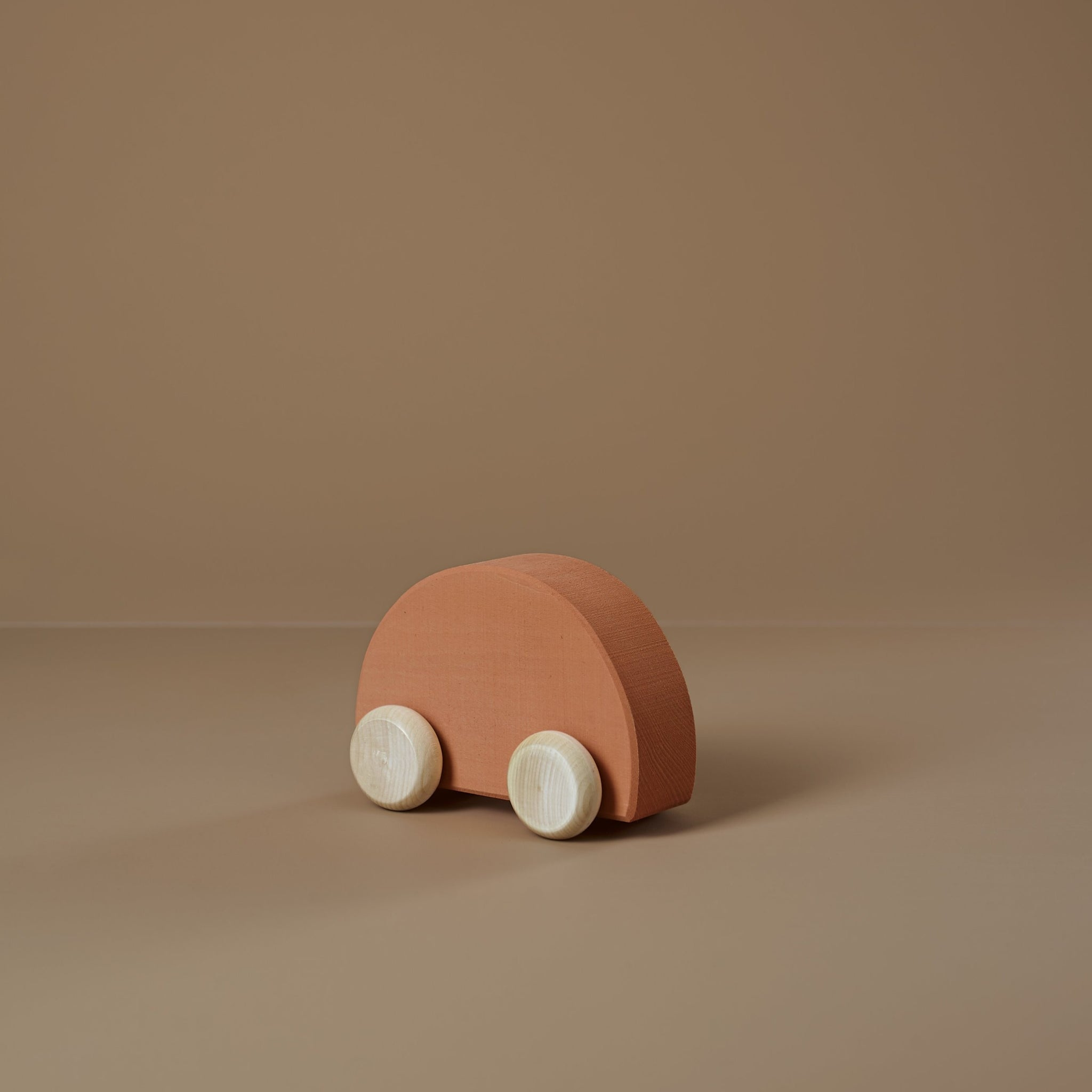 *DEC PREORDER* Wooden Shape Car | apricot
