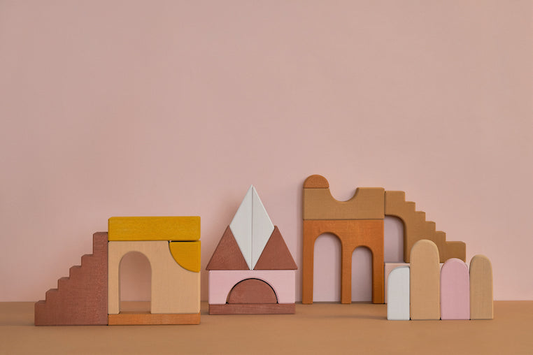 *PREORDER* Wooden Apartment Building Blocks