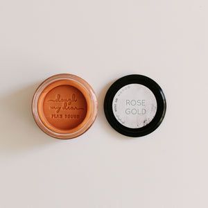 play dough | rose gold