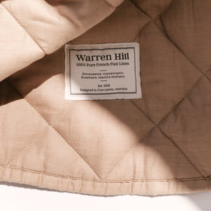PREORDER warren hill play mat | chestnut