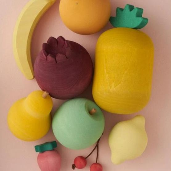 *DEC PREORDER* Wooden Fruit Set