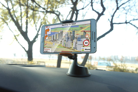 Dash Grab Universal Phone Mount Holder for iPhone 6/5s/5c/4s, Samsung S5/S4/S3, HTC One, Nexus 5